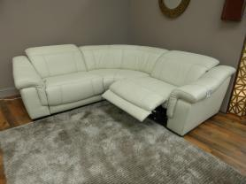 Bianco 3 Piece Electric Recliner Corner Group