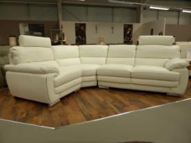 Mizzoni Venice Full Leather Corner Sofa