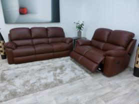 La-Z-Boy Sofia 3 Seater Static and 2 Seater Power Recliner