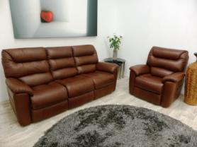 La-Z-Boy Manhattan 3 Seater & Armchair