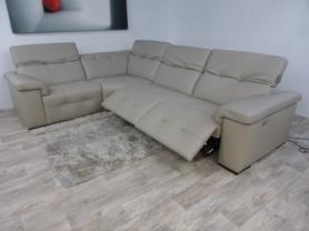 Leather Editions Avant Garde Electric Reclining Corner Sofa