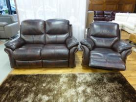 La-Z-Boy Quay West 2 Seater and Chair