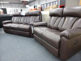 La Z Boy Georgia 3 Seater  & 2 Seater Power Recliner
