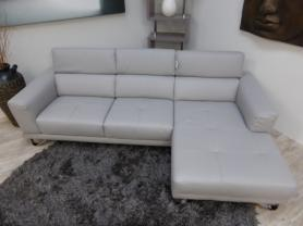 Exclusive Algarve Italian Leather Corner Sofa