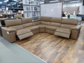 Natuzzi Editions Panama Modular Electric Corner in beige