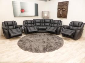 La-z-Boy Augusta curve corner & 2 chairs power recliners *Save £2000*